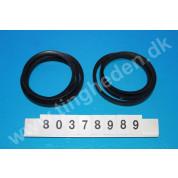 Set of belts (2 pcs), ventilator